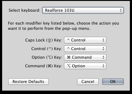 ChangingCapslockto Control in OS X